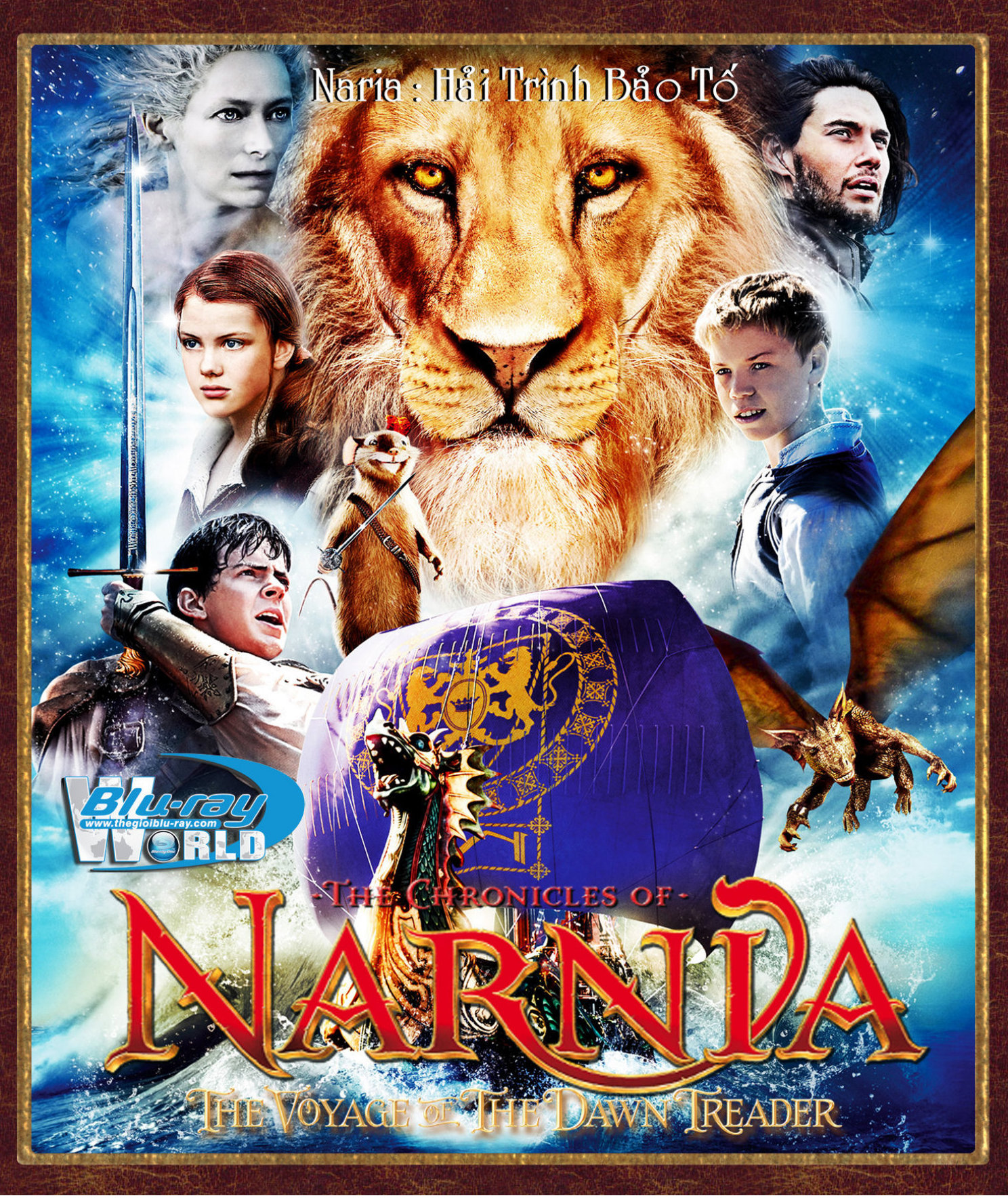 F1104 - The Chronicles of Narnia 3 : The Voyage of the Dawn Treader 2010 - Hành Trình Bảo Tố 2D50G (DTS-HD 5.1)